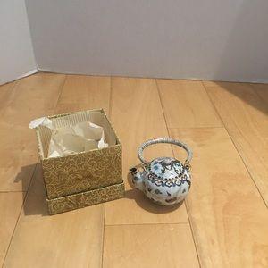 New cloisonné small tea pot